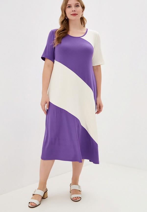 женское платье весталия, фиолетовое