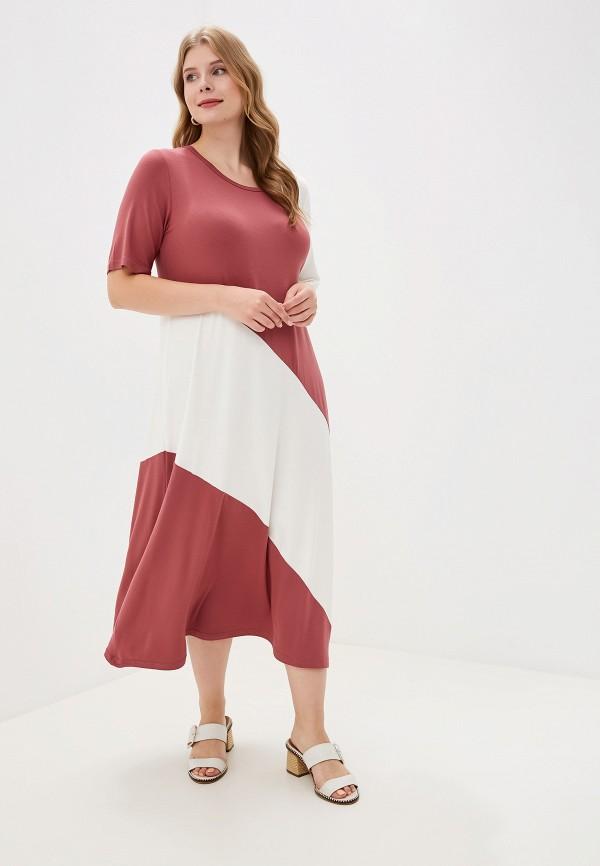 женское платье весталия, розовое