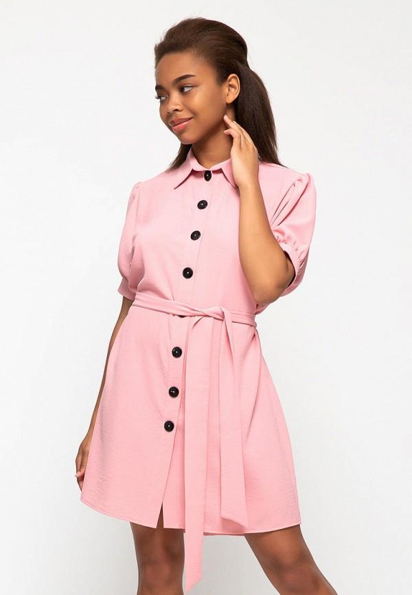 женское платье lilove, розовое