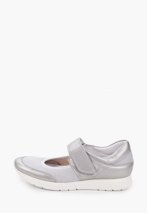 женские туфли с закрытым носом ralf ringer, серые