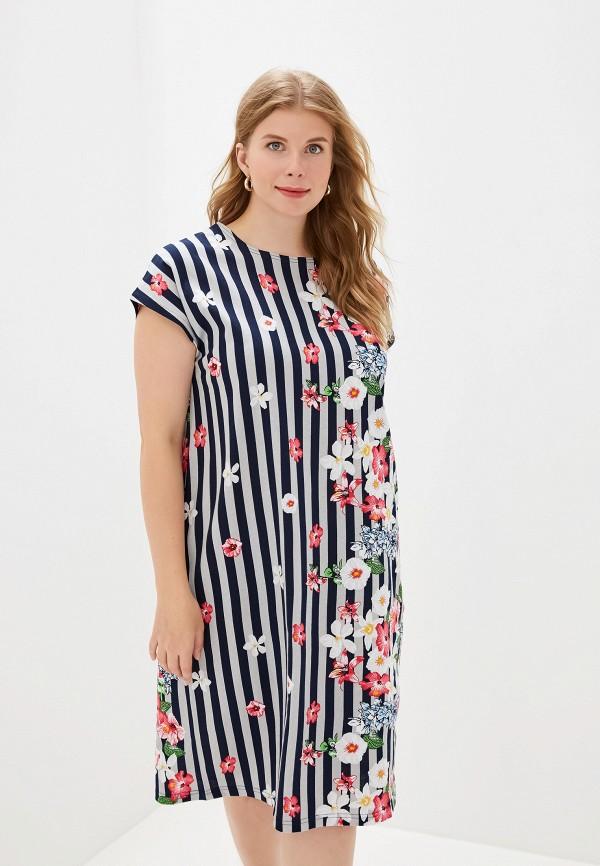 женское платье агапэ, синее