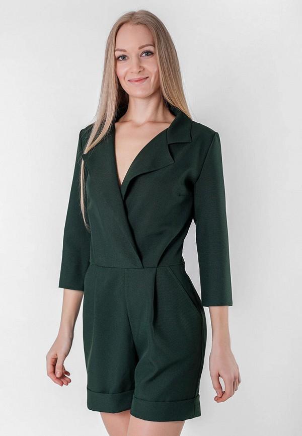 женский комбинезон подіум, зеленый