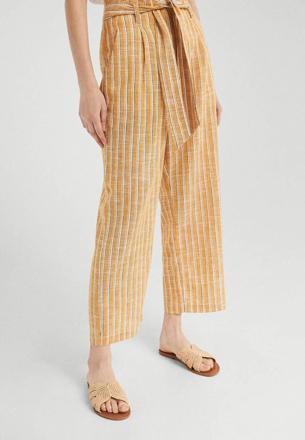 женские повседневные брюки springfield, желтые