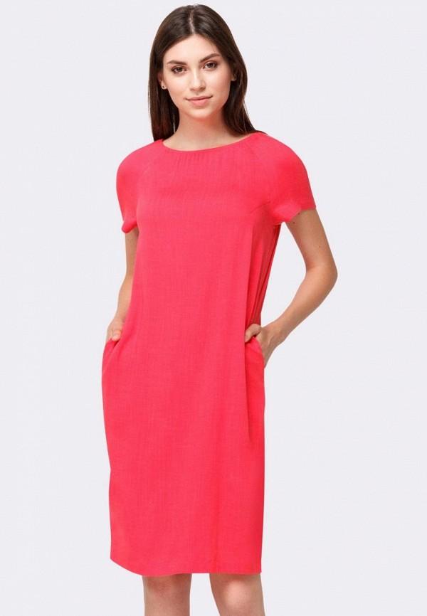 женское повседневные платье cat orange, розовое