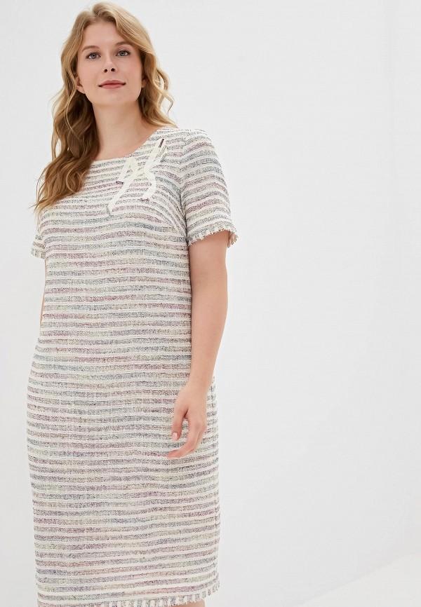 Платье Helmidge Helmidge MP002XW0RCDG полуприталенное платье с молнией спереди helmidge