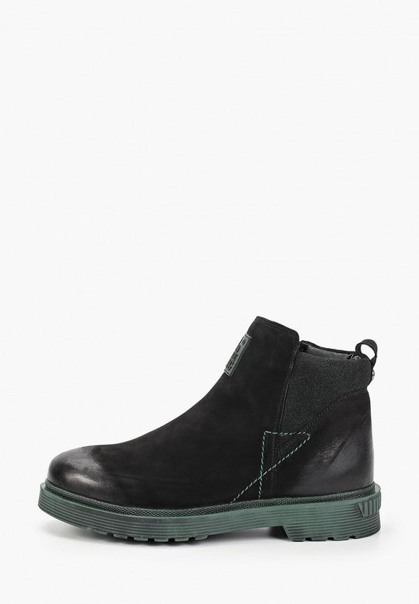 женские высокие ботинки shoiberg, черные