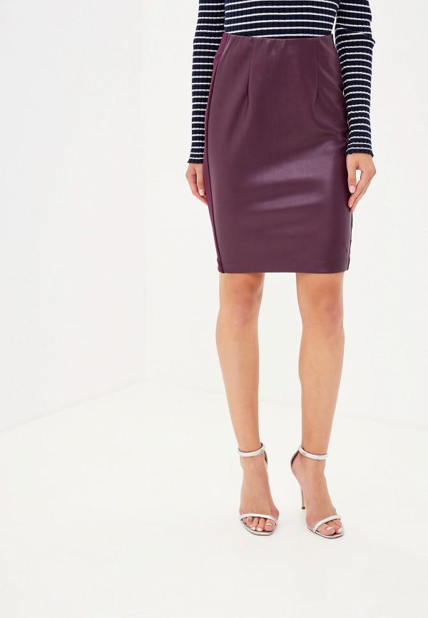женская юбка love republic, фиолетовая