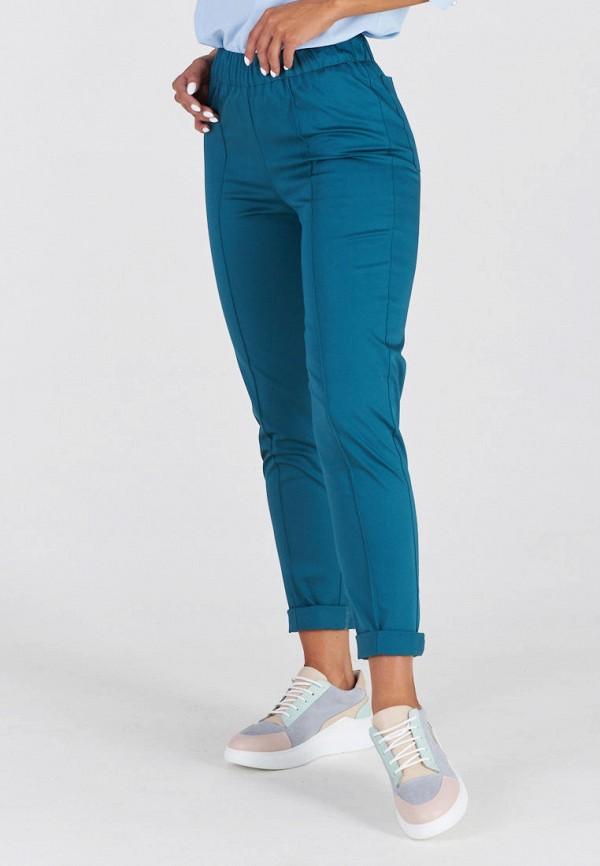 женские брюки eliseeva olesya, бирюзовые