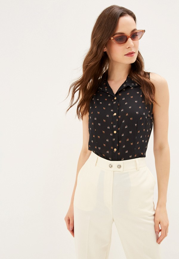 Фото - Женскую блузку Adzhedo черного цвета