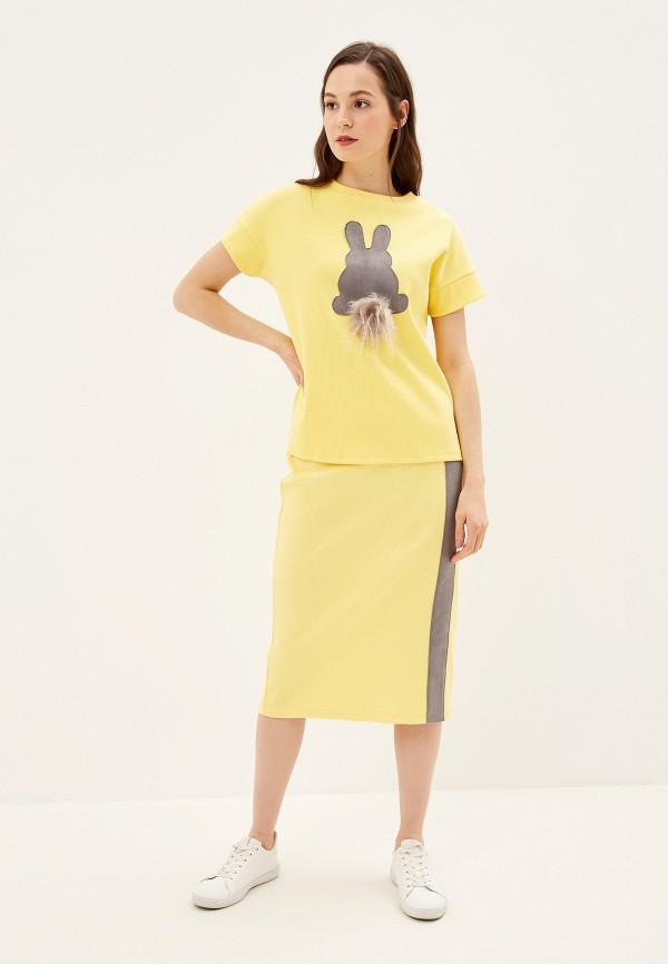 женский костюм adzhedo, желтый