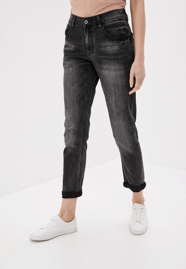 женские джинсы бойфренд mossmore, черные