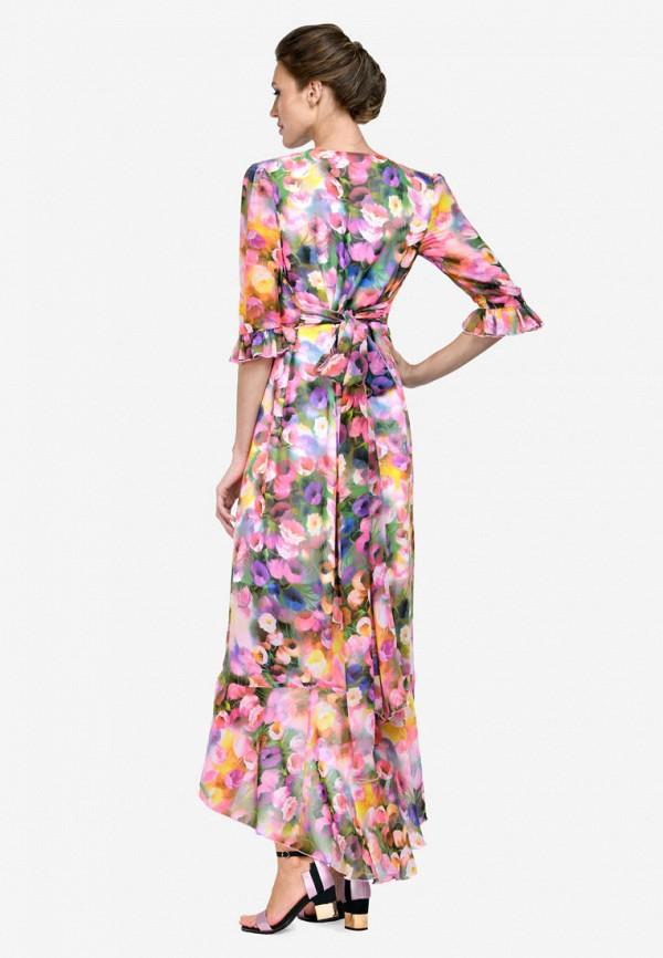 Фото 3 - Женское платье Alisia Fiori разноцветного цвета