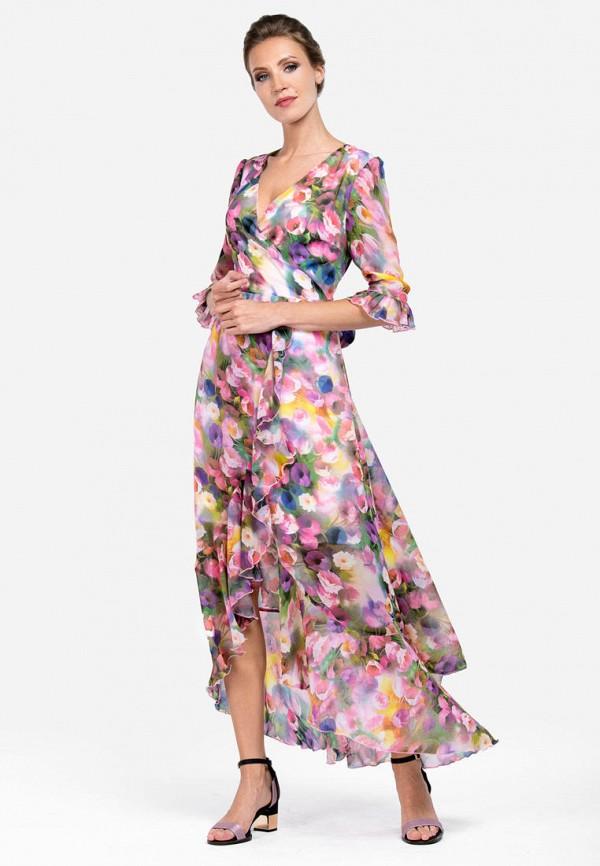 Фото - Женское платье Alisia Fiori разноцветного цвета