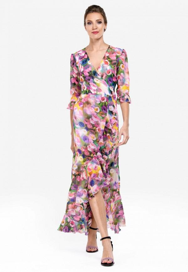 Фото 2 - Женское платье Alisia Fiori разноцветного цвета