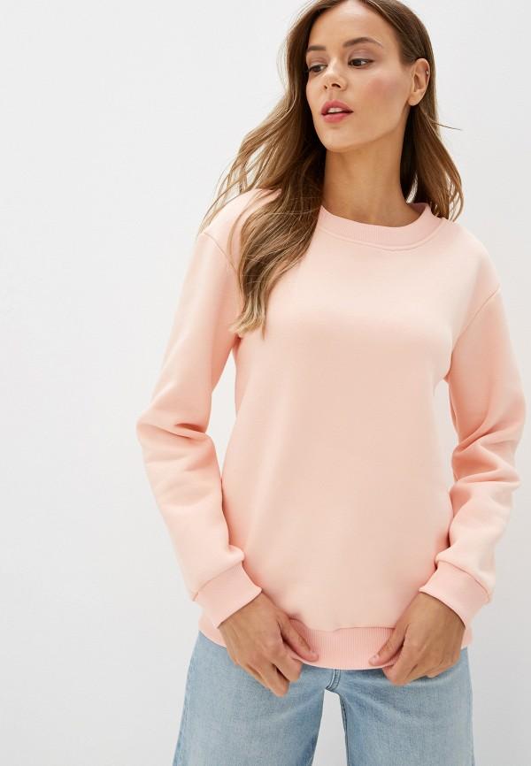 женский свитшот imago, розовый