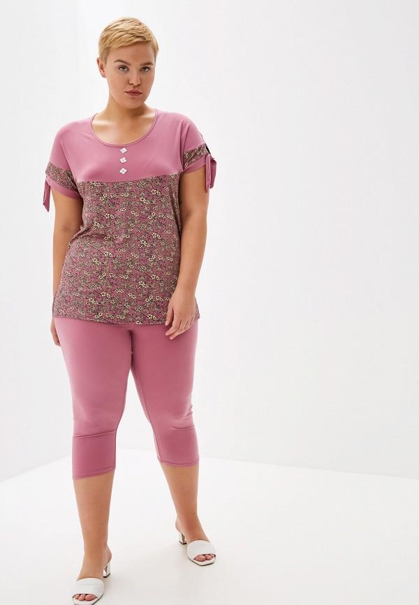 женский костюм prewoman, розовый