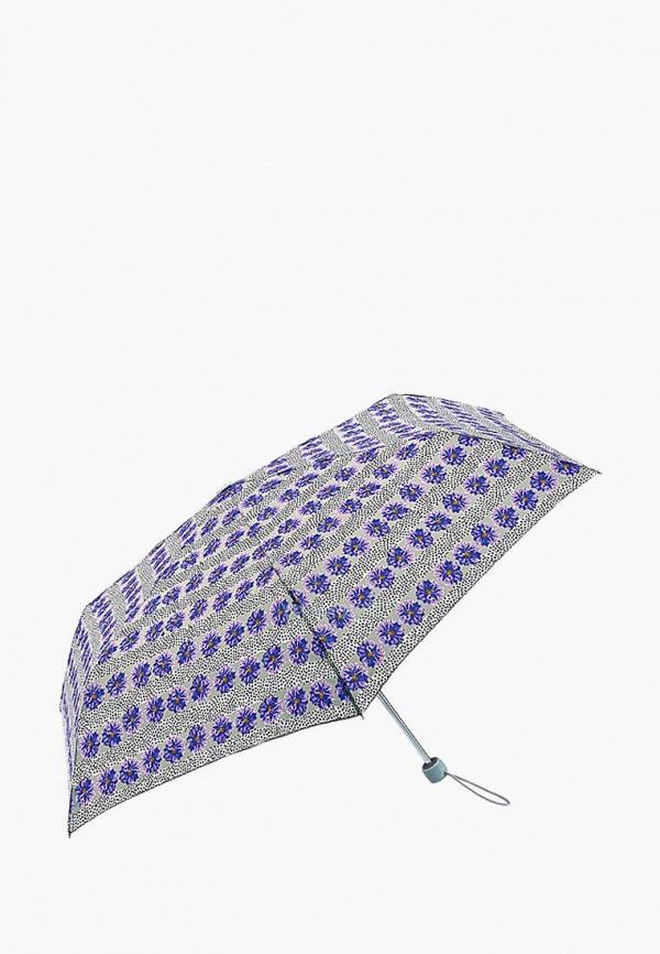 женский зонт fulton, серый