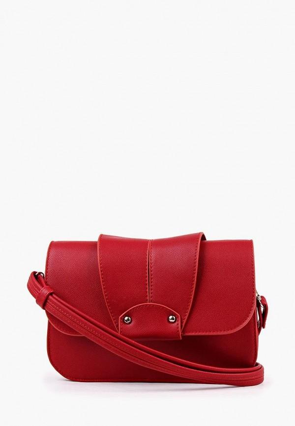 Фото - Женскую сумку Медведково красного цвета