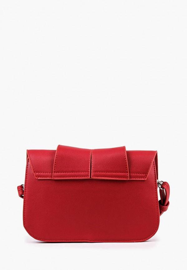 Фото 3 - Женскую сумку Медведково красного цвета