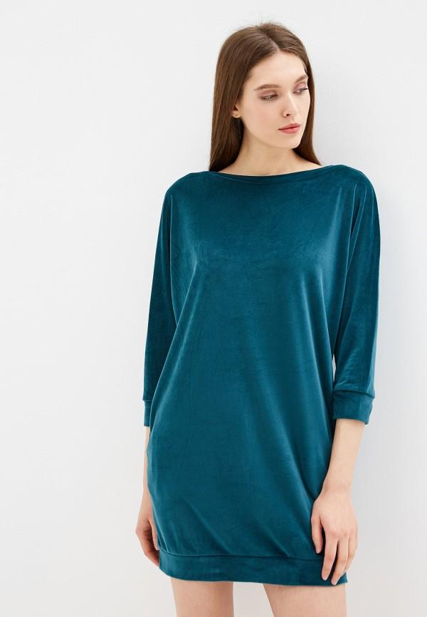 женский свитер love republic, зеленый