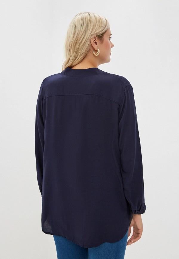 Фото 3 - Женскую блузку Артесса синего цвета