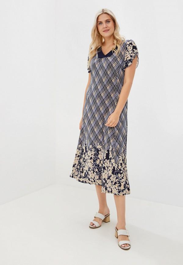 Фото - Женское платье Артесса синего цвета