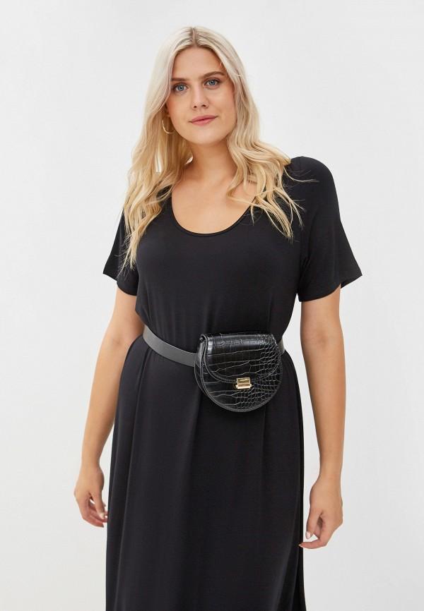 Фото 2 - Женское платье Артесса черного цвета