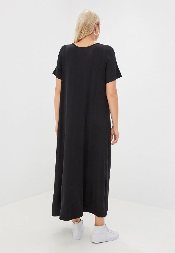 Фото 3 - Женское платье Артесса черного цвета