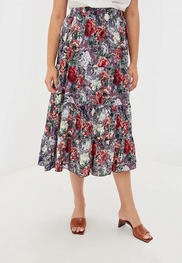 женская юбка артесса, разноцветная
