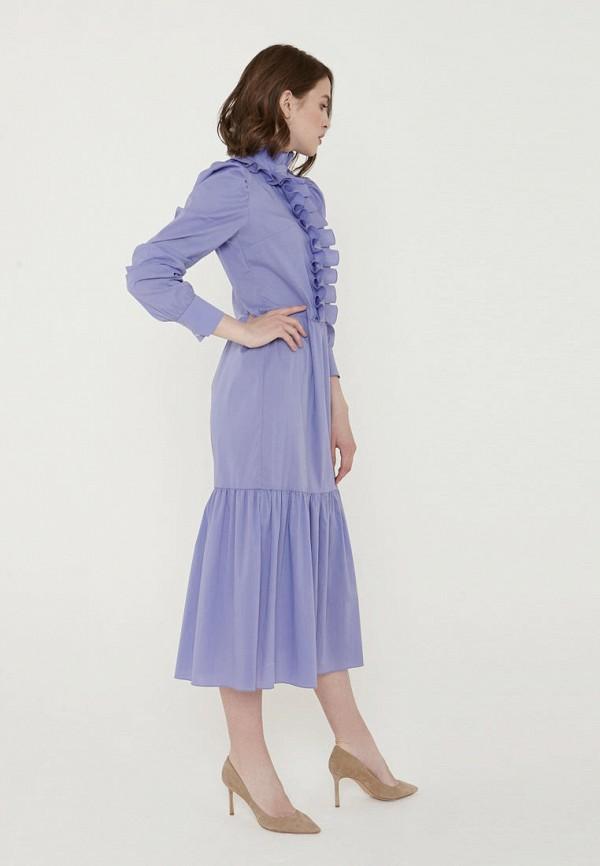 Фото 4 - Женское платье Ли-лу фиолетового цвета