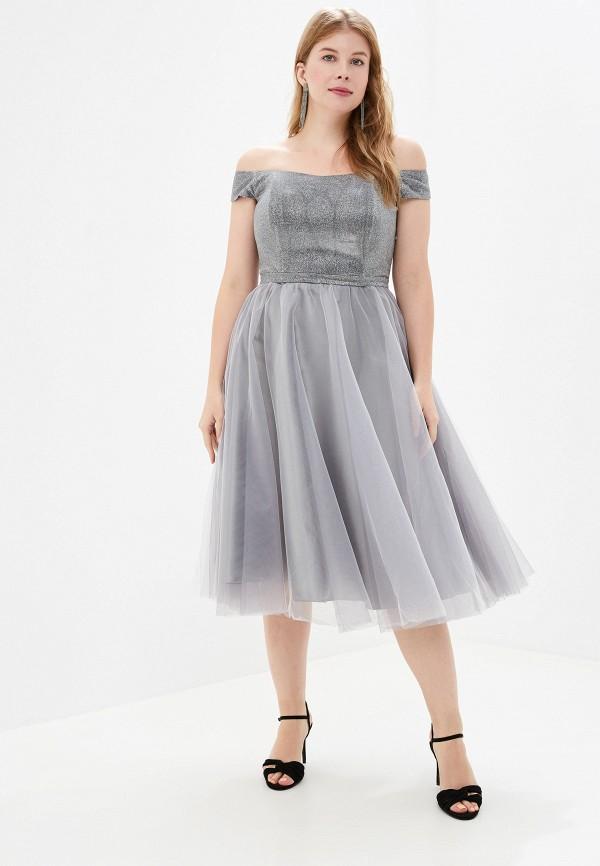 женское платье milomoor, серое