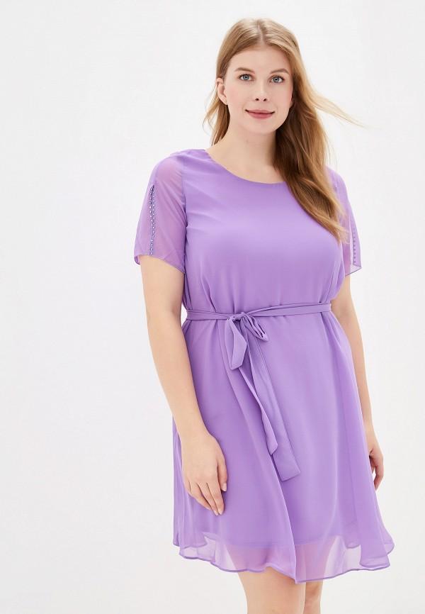 женское платье milomoor, фиолетовое