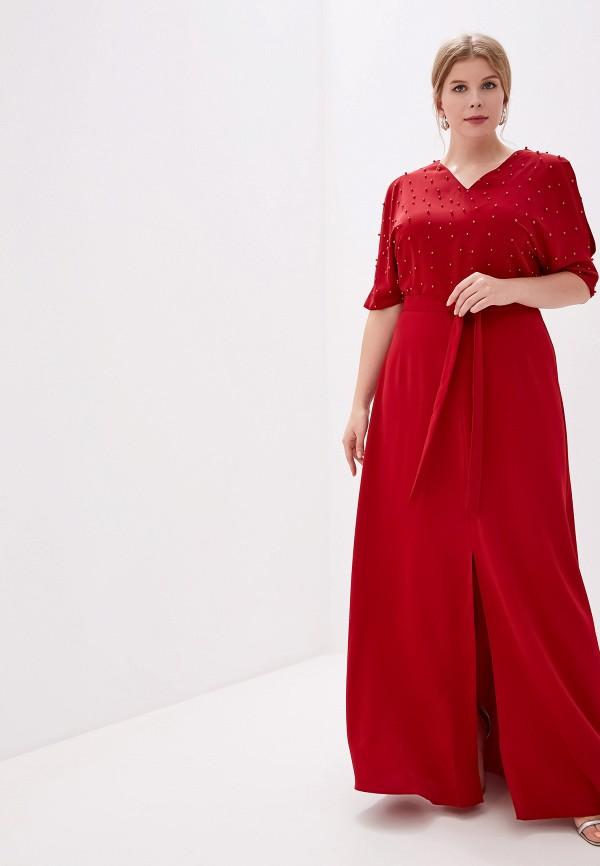 женское платье milomoor, бордовое