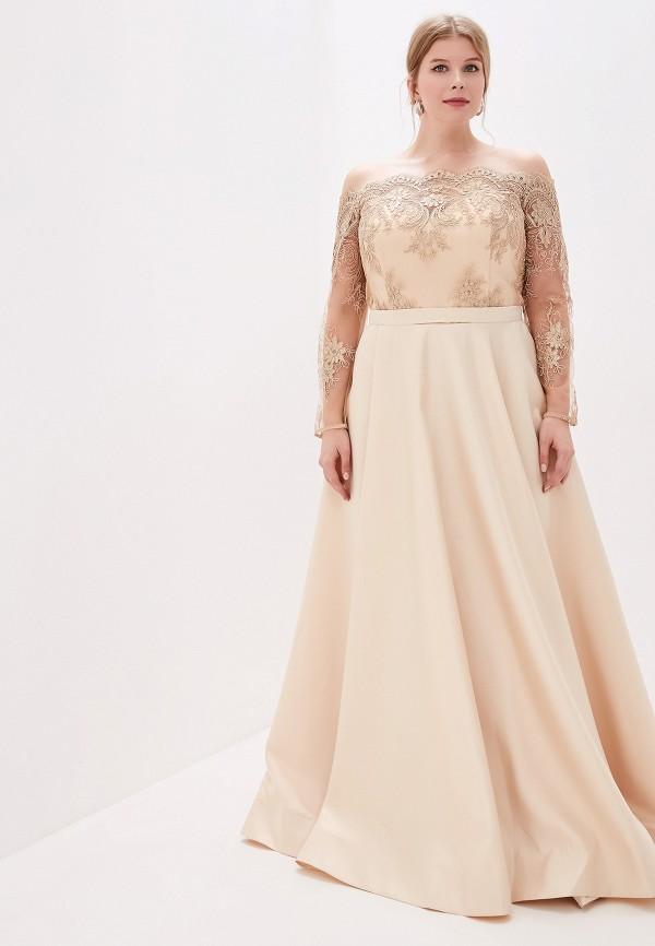 женское платье milomoor, золотое