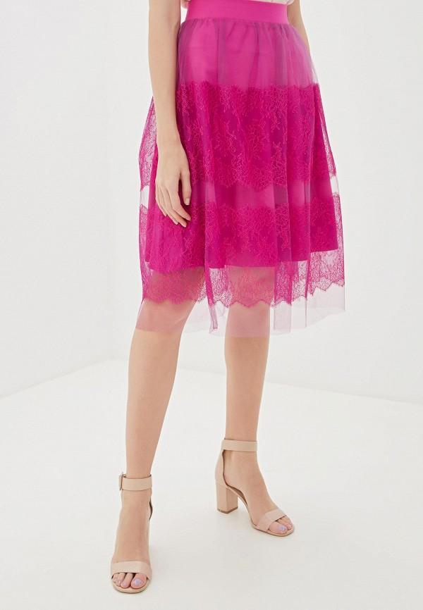 Фото - Женскую юбку Vittoria Vicci розового цвета