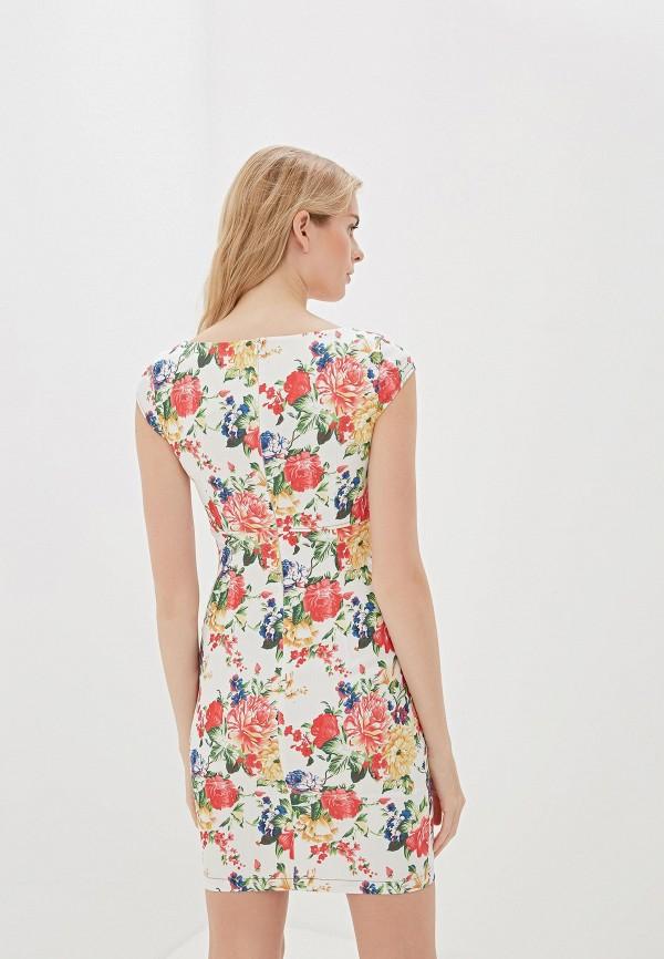 Фото 3 - Женское платье Vittoria Vicci белого цвета