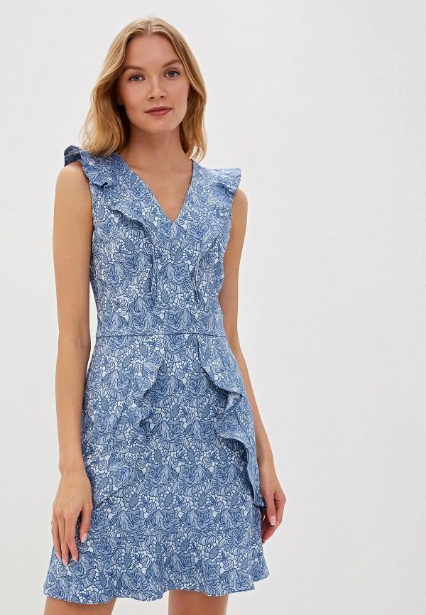 Фото - Женское платье Vittoria Vicci синего цвета