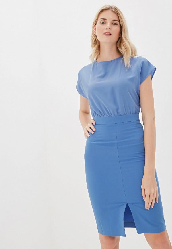 Фото - Женское платье Vittoria Vicci голубого цвета