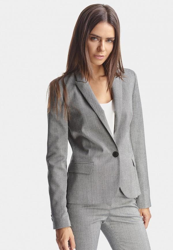 женский жакет natali bolgar, серый