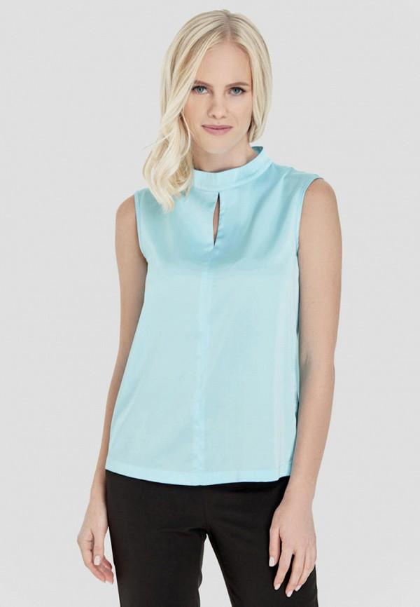 женская блузка natali bolgar, голубая