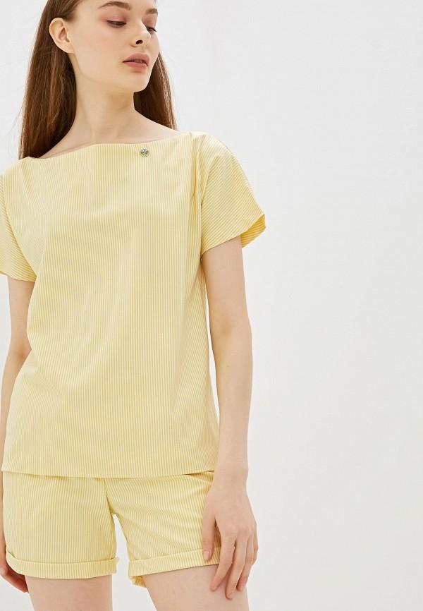 женский костюм avemod, желтый