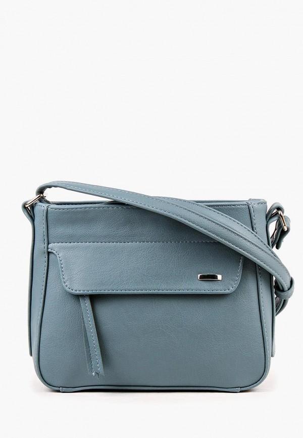Фото - Женскую сумку Медведково голубого цвета