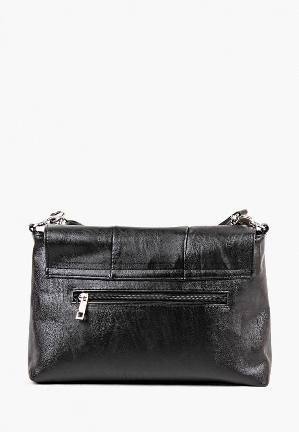 Фото 3 - Женскую сумку Медведково черного цвета