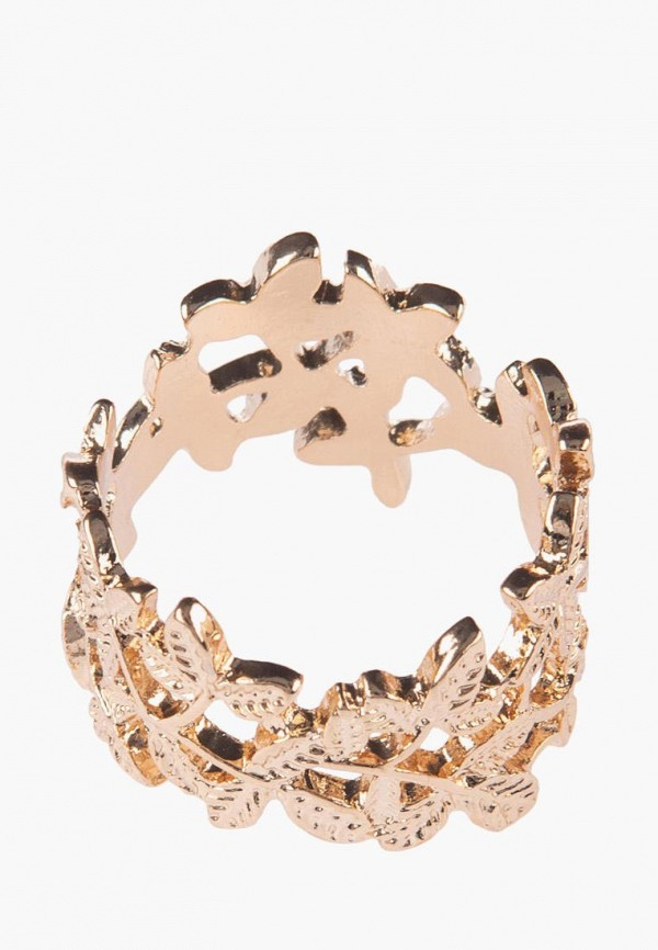 Фото 2 - Кольцо diva золотого цвета