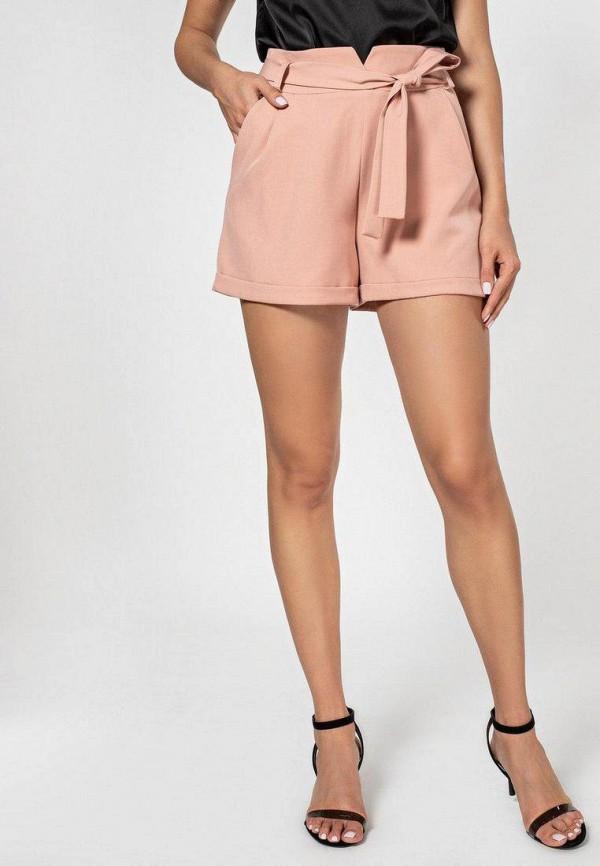женские повседневные шорты itelle, розовые