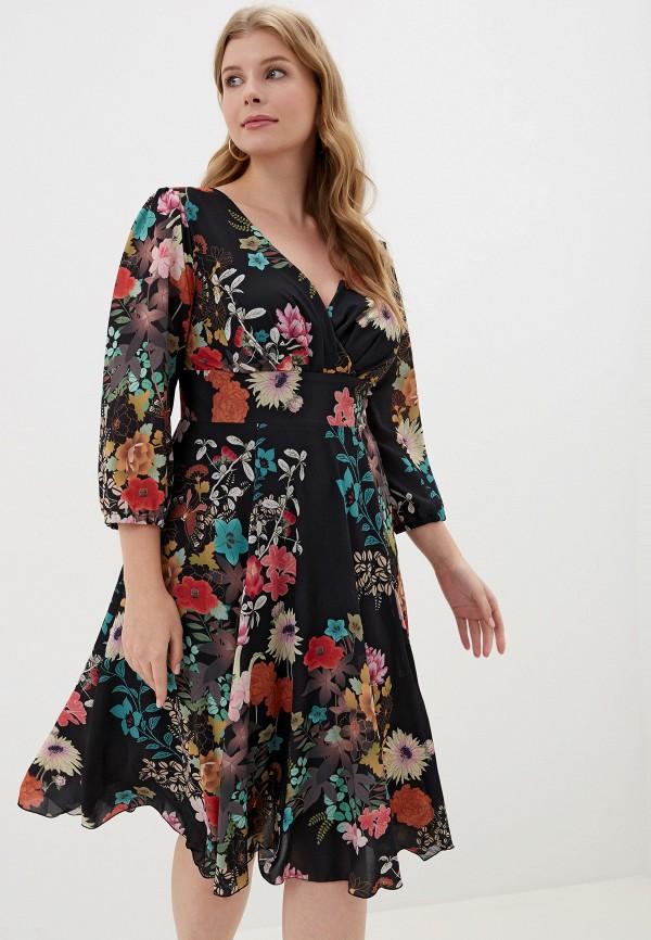 женское платье shegida, черное