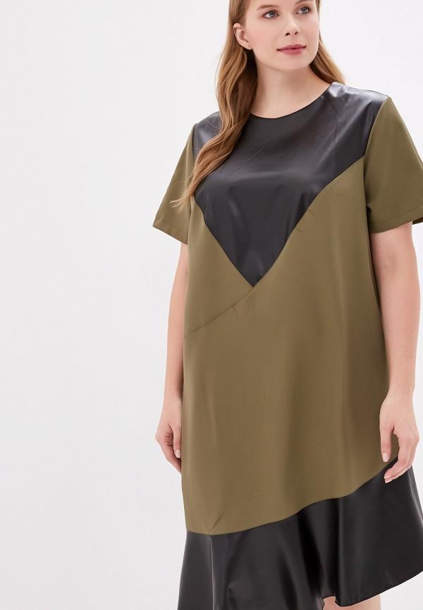 женское платье jp, хаки