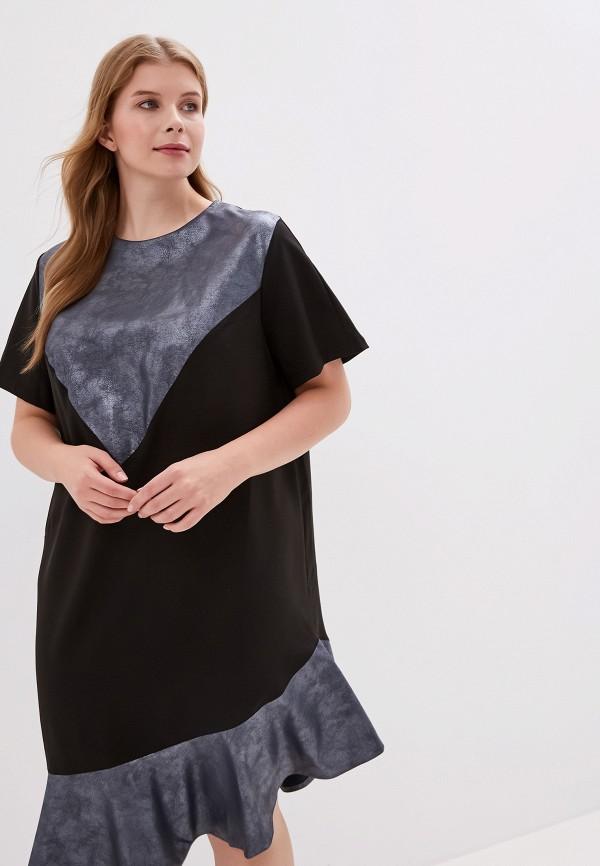 женское платье jp, черное