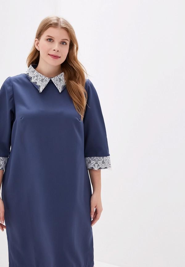 женское платье jp, синее