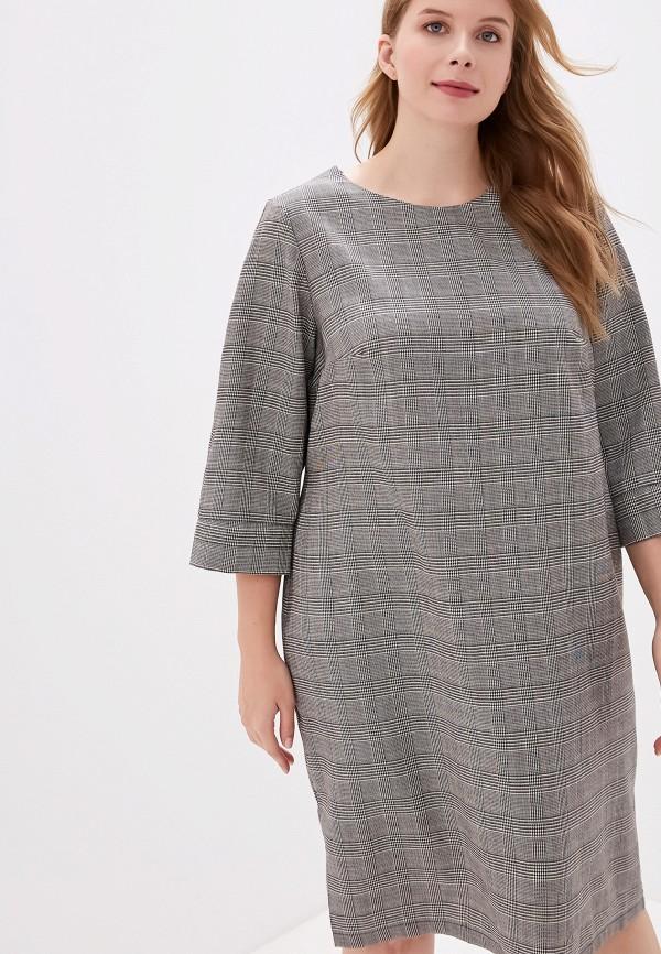 женское платье jp, серое